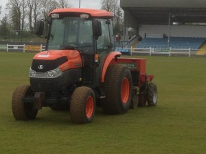 Killeen Sports Ground tractors